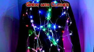 Blue Led String Lights by Led String Lights Youtube