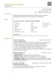 career objective example resume unique resume objective examples frizzigame graphic designer resume objective free resume example and