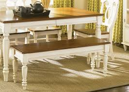 combining country dining tables with modern chairs is trendy