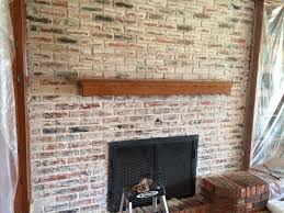lisa u0027s smeared mortar aka german smeared fireplace diy home