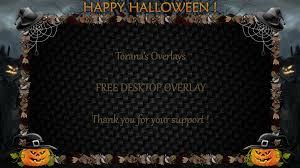 happy halloween hd wallpaper happy halloween hd desktop overlay by toranasoverlays on deviantart