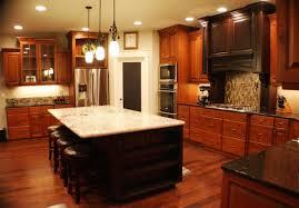 l best cherry stain wood kitchen cabinet and dark espresso dark