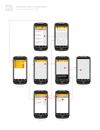 Putting it All Together  Wireframing the Example App   Android     Android Developers