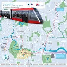 Los Angeles Light Rail Map by Light Rail Transport Sydney