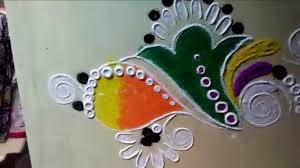 easy rangoli designs youtube