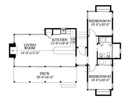 Contemporary Style House Plans Contemporary Style House Plan 2 Beds 1 00 Baths 877 Sq Ft Plan
