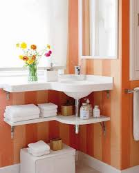 bathroom astounding tower shelf small bathroom storage ideas in bathroom best under sink organization with small bathroom storage ideas using stripe orange colored wall