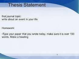 thesis journal paper