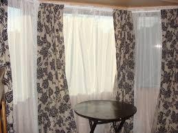 sheer window curtains