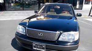 lexus is sedan wiki 1999 lexus ls400 ucf20 2 two owner 69 000 orig mi ls 400 toyota