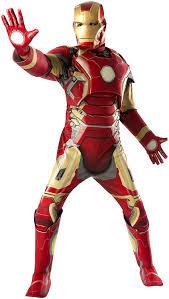 Mens Halloween Costumes Amazon Amazon Rubie U0027s Men U0027s Avengers 2 Age Ultron Iron