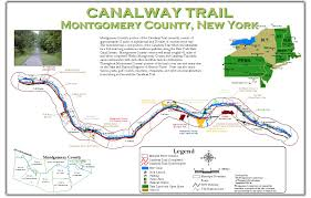 New York County Map by Montgomery County Ny