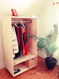 Simple Free Standing Shelf Plans by Best 25 Free Standing Wardrobe Ideas On Pinterest Industrial