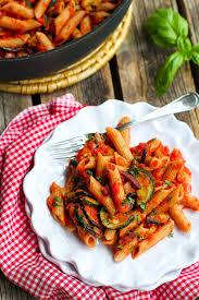 Pasta Recipes Roasted Zucchini U0026 Eggplant Puttanesca Pasta The Pioneer Woman