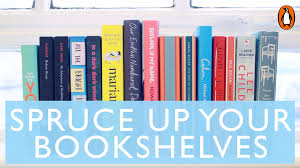 spruce up your bookshelves with marie kondo youtube