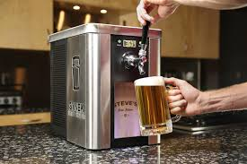Beer Kegerator The Synek Craft Brew Dispenser Is Like A Keurig For Beer Digital