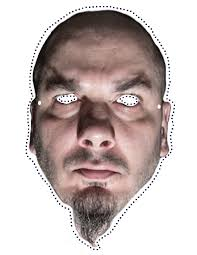 halloween mask costumes still need a halloween costume try these heavy metal cut out