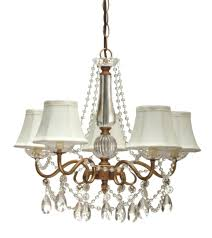 White Shabby Chic Chandelier by Bedside Chandelier Lamp Tribecca Home Silver Mist Hanging Crystal