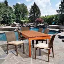 Martha Stewart 7 Piece Patio Dining Set - martha stewart living lake adela bone 7 piece patio dining set
