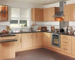 white wall beech units kitchen google search kitchen