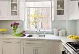 Kitchen Room  Glass Tile Kitchen Backsplash Marble Tiles Design - Carrara tile backsplash