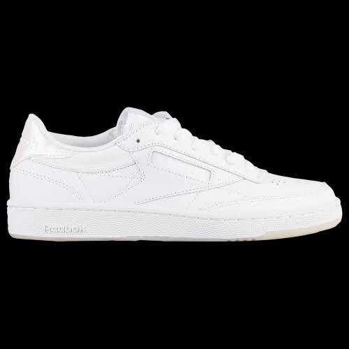 Reebok Women Club C 85 Leather Sneakers White 9