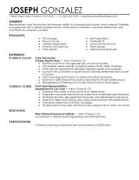 What Is Job Profile In Resume by Unforgettable Lube Technician Resume Examples To Stand Out