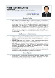 Resume Sample For Long Term Employment by Qa Qc Engineer Resume Sample Resume For Your Job Application