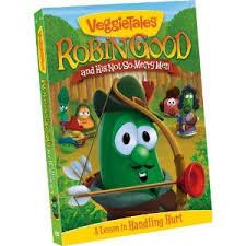 veggie tales, robin good, christian animation