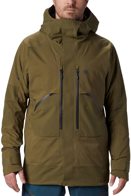 Mountain Hardwear Cloud Bank Gore-Tex Insulated Jacket Combat Green Medium 1851361353-M
