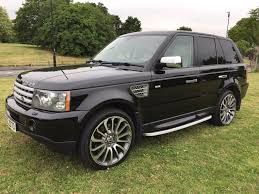 range rover sport 3 6tdv8 hse auto 2008 with very low mileage