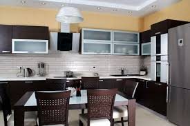 Tiled Kitchen Table by 37 Fantastic L Shaped Kitchen Designs