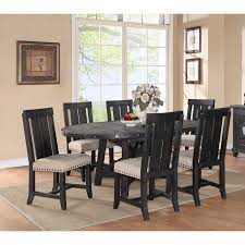 Round Dining Table Sets For 6 Modus Round Yosemite 5 Piece Round Dining Table Set With Wood