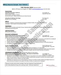 Ex Military Resume Examples by Social Work Resume Template Resume Templates 2017 Social Worker