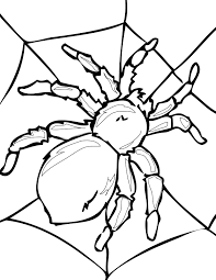 cute spider coloring pages getcoloringpages com