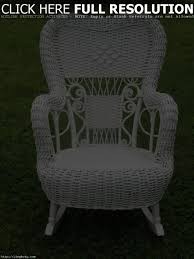 Painting Wicker Patio Furniture - outdoor wicker rocking chair cushions patio decoration