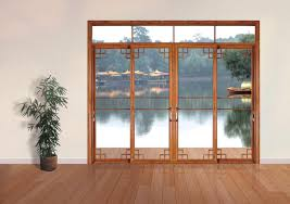 simple and elegant with sliding glass door home decor and furniture