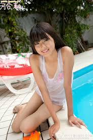 河合真由 美少女|... 河合真由の美少女JCアイドル水着グラビア 画像4枚004