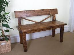 Wood Bench Plans Indoor by The 25 Best Farmhouse Bench Ideas On Pinterest Diy Bench