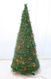 pre decorated christmas trees 4 u0027 pre lit collapsible christmas tree