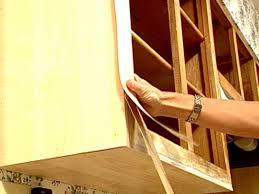 Refinishing Kitchen Cabinets No Hassle Cabinet Refinishing Video Hgtv