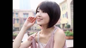 choicest leading mode short haircut for female korean artist