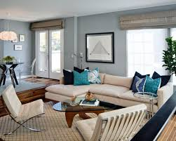 Nice Livingroom Awesome Coastal Living Room Decor With Nice Relaxing Wall Paint