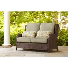 Vintage Brown Jordan Patio Furniture - brown jordan vineyard patio loveseat with meadow cushions and