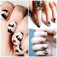 20 frighteningly pretty diy halloween nail art tutorials that are