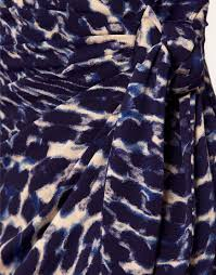 Blue Leopard Print by Coast Coast Leopard Print Dress In Blue Lyst