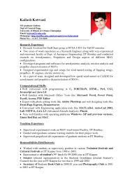 Best It Resume Sample by Graduate Resume Template Student Resume Example Kinesiology
