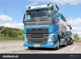 volvo freight trucks salo finland may 26 13 volvo stock photo 140102296 shutterstock