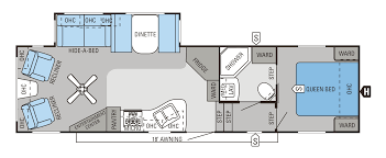 Fifth Wheel Bunkhouse Floor Plans 2014 Eagle Fifth Wheels Floorplans U0026 Prices Lone Star Rv Sales Inc