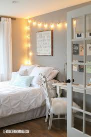 Mood Lighting Bedroom by Best 25 String Lights Bedroom Ideas On Pinterest Teen Bedroom